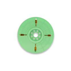- 3000nx 4 mm x 500 m Polycore Rulo Tel Klips Renk: Altın (1)