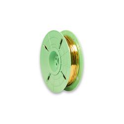 - 3000nx 4 mm x 500 m Polycore Rulo Tel Klips Renk: Altın