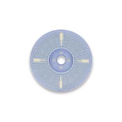 - 3000nx 4 mm x 500 m Polycore Rulo Tel Klips Renk: Beyaz (1)