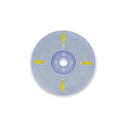 - 3000nx 4 mm x 500 m Polycore Rulo Tel Klips Renk: Sarı (1)