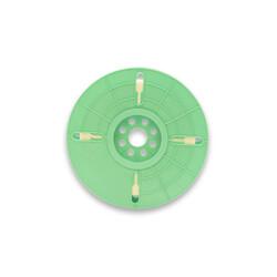 - 4 mm x 500 m Polycore Tie Rulo Tel Klips Renk: Beyaz (1)