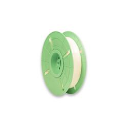 - 4 mm x 500 m Polycore Tie Rulo Tel Klips Renk: Beyaz