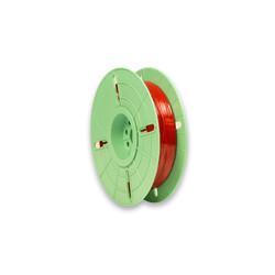 - 4 mm x 500 m Polycore Tie Rulo Tel Klips Renk: Kırmızı