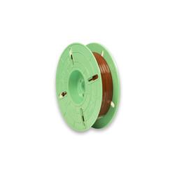 - 4 mm x 750 m Pet 2 Kat Rulo Tel Klips Renk: Kahverengi