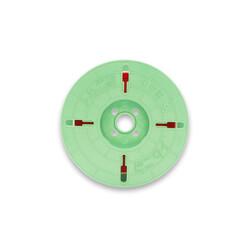 - 4 mm x 750 m Pet 2 Kat Rulo Tel Klips Renk: Kırmızı (1)